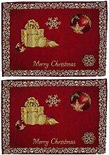 AS4HOME Tischset - Merry Christmas - Weihnachten