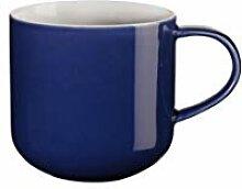 ASA coppa Henkelbecher blau Porzellan 0,4 l