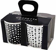 ASA Coppetta Espressobecher, Keramik,