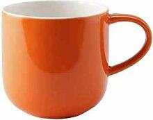 ASA Henkelbecher, orange COPPA D. 9,2 cm, H. 9,5