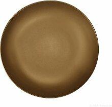 ASA Pastateller, Keramik, Gold, 31 cm