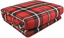 ASAB Extra große Picknickdecke mit wasserdichter