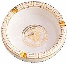 Aschenbecher aus Keramik, handgefertigt, für