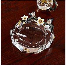 Aschenbecher Europäischen Glas Große Kreative