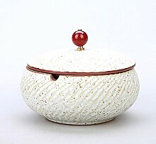Aschenbecher mit Deckel Aschenbecher aus Keramik
