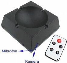 Aschenbecher mit eingebauter Spionkamera Spy/Spionkamera + AKKU HighClass -ALL-IN