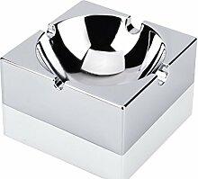 Aschenbecher Quadratisch Kreativ Spiegel Metall Bar Aschenbecher Kontinental Mode Praktisch Männer Geschenk