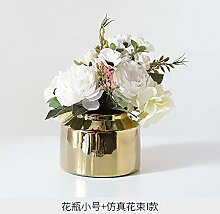 ASD Dekoration Keramikvase Dekoration Wohnzimmer