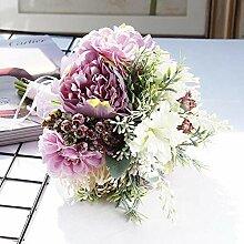 ASDFG Künstlicher Brautstrauß Hochzeit Blumen