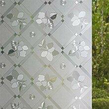 ASDFGH Glas-Film Statische klarsichtfolie