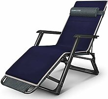 ASDFGH Heavy-Duty Folding Sessel Stuhl Deckchairs,