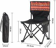 ASDFGH Portable Outdoor-klapp Stuhl leicht,