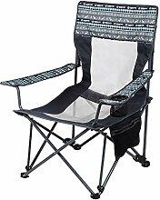 ASDFGH Portable Ultraleichter Camping faltstuhl,