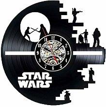 ASDFGH Vinyl Uhr, Schallplatte Uhr Star Wars