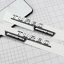ASDNN 2 Stück/Set Turbo/BITURBO AMG Buchstaben
