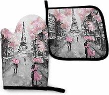 Asekngvo Eiffelturm Rosa Liebhaber in Paris