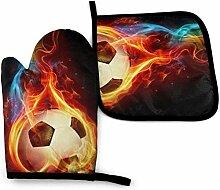 Asekngvo Rainbow Football Fire Ethnic Seamless