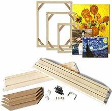 ASENART DIY Holz Keilrahmen für Leinwand