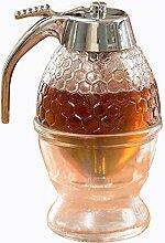 asentechuk® Honigspender,Sirup Dispenser Bee Drip