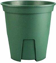 ASF15 Kunststoff-Blumentopf, rund, Grün, plastik,