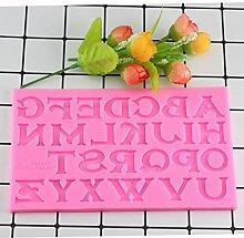 ASFGA 3D Backen Silikon Großbuchstaben Form
