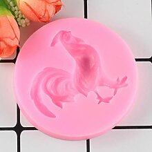 ASFGA Hahn Huhn FormSilikonform Polymer Clay