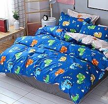 AShanlan Kinder Jungen Bettwäsche Dinosaurier