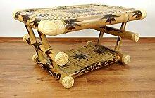 Asia Wohnstudio Couchtisch aus Bambus, Sofatisch,