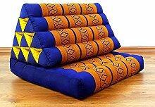Asia Wohnstudio Thaikissen der Marke, Blau/Gelb,