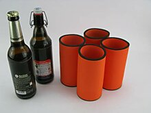 asiahouse24 4er Set orange Getränkekühler 0,5l