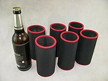 asiahouse24 6er Set Getränkekühler 0,5l Flasche