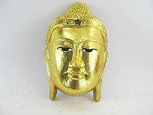 asiahouse24 L Buddha Maske - Gesicht - Teak Holz -