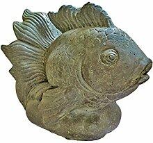 Asiastyle Fisch als Wasserspiel, Kampffisch
