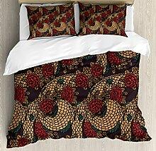 Asiatische Bettbezug Set by ambesonne, Alten