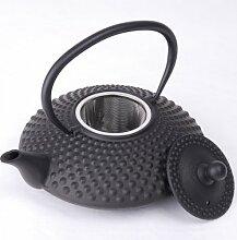 Asiatische Gusseisen Teekanne - 1,25 Liter -