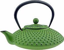 Asiatische Gusseisen Teekanne - Fassungsvermögen
