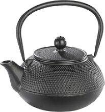 Asiatische Teekanne aus Gusseisen, 0,9 Liter, für