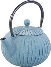 Asiatische Teekanne aus Gusseisen mit