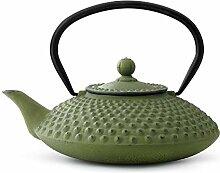 asiatische Teekanne Gusseisen Jing 1,25 ltr.