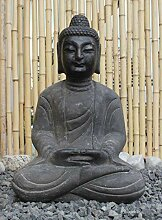 Asien Lifestyle Buddha Amitabha Naturstein Statue