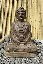 Asien Lifestyle Buddha Statue Amitabha Naturstein