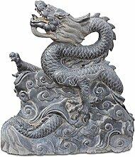 Asien Lifestyle Drachen Statue für den Asien