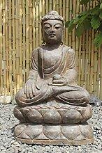 Asien Lifestyle Garten Buddha Figur 60cm Siddharta