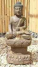 Asien Lifestyle Garten-Buddha Figur (65cm) Garten