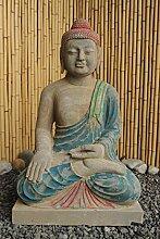 Asien Lifestyle Garten Buddha Figur 81cm