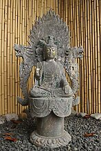 Asien Lifestyle Garten Buddha Figur 92cm