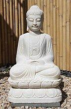 Asien Lifestyle Garten-Buddha Figur aus