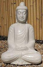 Asien Lifestyle Garten Buddha Figur Marmorstein