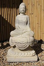 Asien Lifestyle Siddharta Buddha Statue Marmor