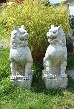 Asien LifeStyle Tempel Drachen Löwen für Schutz & Reichtum